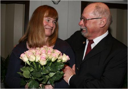Rosemarie Delfs und Siegfried Baewer